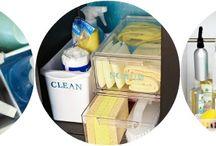 Organiseren schoonmaakmiddelen