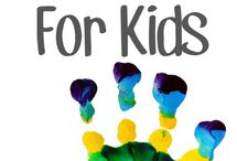 Activities for toddlers / handprints and many more activities for toddlers