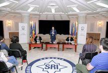 Vizita masteranzilor FSAS la sediul central al SRI și la ANIMV.