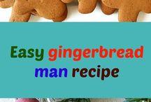 Easy gingermen