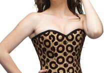 CORSETS-NAUGTYSMILE / Corsets-Steel Boned Corsets help to reduce waist size!