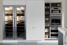 Storage solutions in modern kitchen