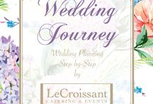 A Wedding Journey: Step-by-Step Wedding Planning Inspiration with LeCroissant Catering & Events / Wedding inspiration for a vintage, Edwardian-themed garden wedding full of lilacs and spring colors.