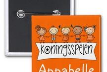 Koningsdag / Oranje, koningsactiviteiten, lessen, knutsels