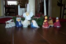 Christmas crafts for kids / by Beth Spell