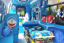 Doraemon-themed ambulance in Thailand gives patients a stress-free ride