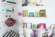 We love black dots / Nos encantan los lunares / kids rooms with black dots  / Habitaciones infantiles decoradas con lunares