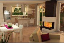 3D vizualizácie -3D rendering interior / Vizualizácie interiérov, návrhy interiérov Interior visualization, interior design
