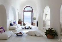 Interior design / Greek/Mediterranean design
