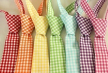 Textiles: Gingham, Polka Dots, Checkerboard,Plaid, Stripes, Swirls, and Chevron