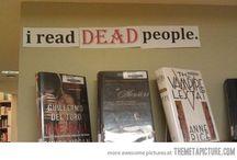 Spooky Book Displays