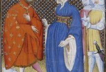 Houppelande - XIV, XV century