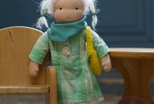 Waldorf dolls by Éva Villányi / http://en.dawanda.com/shop/Countrysided
