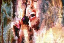 Tina Turner Pop Art Canvas