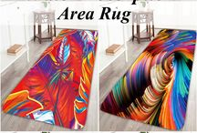 Rugs with art