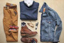 Сочетания в одежде
