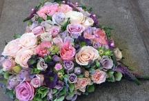 Blommor begravning