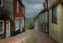 Lewes / Lewes. County Town, Sussex, UK