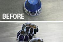 Riciclare capsule nespresso / Idee per riciclare le cialde del caffè e le capsule Nespresso con un pò di creatività.