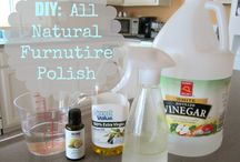 DIY Household Products / Why buy a product full of chemicals when you can make what you need from natural ingredients that usually costs much less