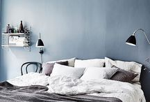 Interieur - Blue bedroom