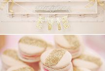 Pink & Gold / Pink and Gold party ideas, decor, food & other event inspiration / by Sendo Invitations