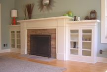 Craftsman Style Fireplace