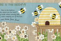 Clare Beaton's / Felt Illustrations