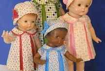 Šijeme na retro panenky