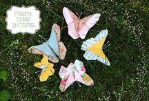Mariposas de tela