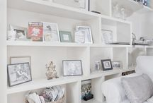 Storage and display ideas / Ideas for storage joinery