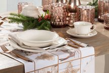 Weihnachtstafel / Zu #Weihnachten schöne Ideen zur Gestaltung einer festlichen #Weihnachtstafel