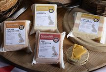 Packaging for Somerdale / Cheese packaging produced to sell this large range of cheeses