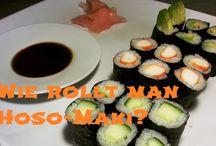 Sushi-Liebhaber Videos / Sushibilder mit interessanten, traditionellen oder innovativen Sushis!