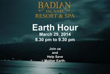 Earth Day 2014 / Come and join us as we participate in the Earth Hour on March 29, 2014 from 8.30 pm to 9.30 pm. Witness as we turn off unnecessary lights and we celebrate under the grand moonlight. This is Badian Island Resort and Spa's way of helping out in saving our planet.