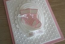 Baby Cards / Making baby cards