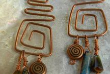 Mt. Lion Designs / Earrings  / by Elizabeth DeWitt