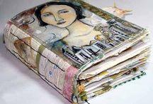 Art hand made sketchbooks Shauna