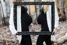 Bestie pregnancy photoshoot