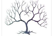 árboles de huellas