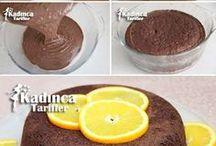 yumurtasız portakallı kek