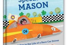 Speedster Personalized Book / Speed racers will love the thrill of seeing their own name—and favorite color—on every page of this book! / by I See Me! Personalized Children's Books
