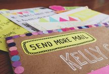 Mail Art / Inspiring Mail Art that I'm looking forward to recreating with my own snail mail stuff