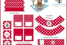 Party printables themes