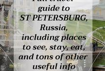 St Petersburg - Moscow