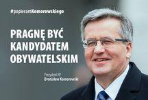 Broniosław Komorwski będzie ubiegał się o reelekcję