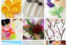 Barnehagetips Blomster, Vår og Sommer