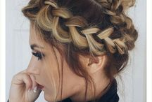 Hairstyles for Moms / hairstyles for medium length hair | hairstyles for long hair | easy hairstyles | wedding hairstyles | braided hairstyles | hairstyles long, quick hairstyles | cute hairstyles | braids | buns | top knots | half up | hair-do | up-dos | casual hair | twists | bobby pins | head scarves | bows | pony tails | ponytail
