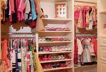 Rory and Lottie's wardrobe