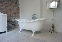 Bathrooms by Marrakesh Cement Tile / Marrakesh Cement tiles used in bathrooms
